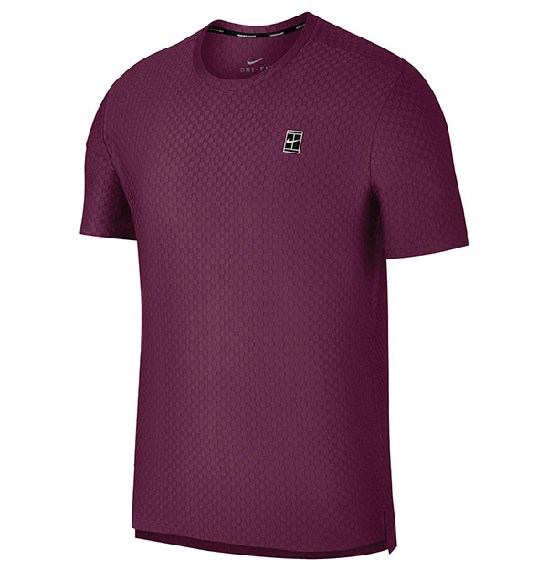 Nike Checkered Court Top Short Sleeve (M)