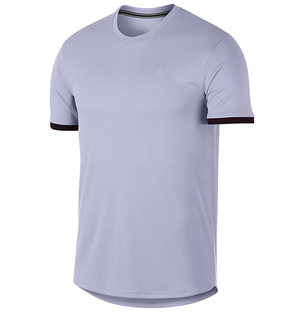 Nike Court Dry S/S Colorblock Top (M)
