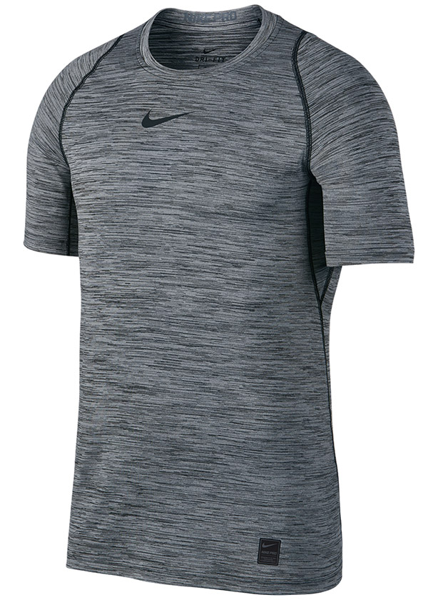 Nike Fitted Short Sleeve Heather Top (M)