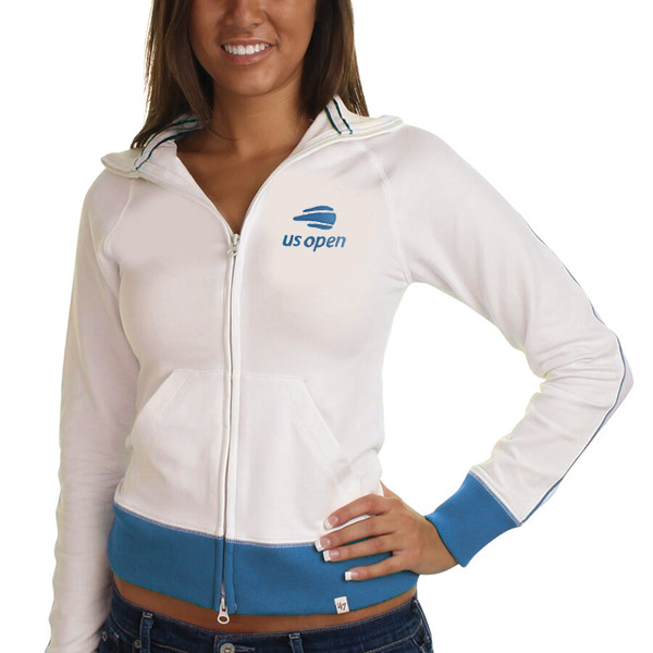 US Open Scrimmage Track Jacket (W) White