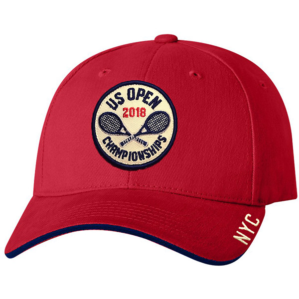 US Open '18 Roundhouse Cap (M) Red
