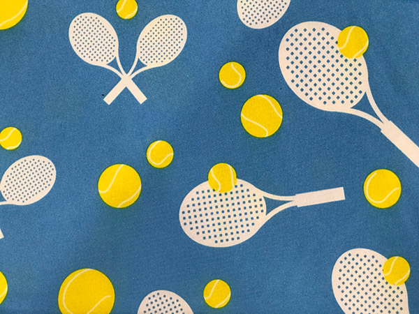 "Square Tennis Tablecloth (52"" x 52"")"