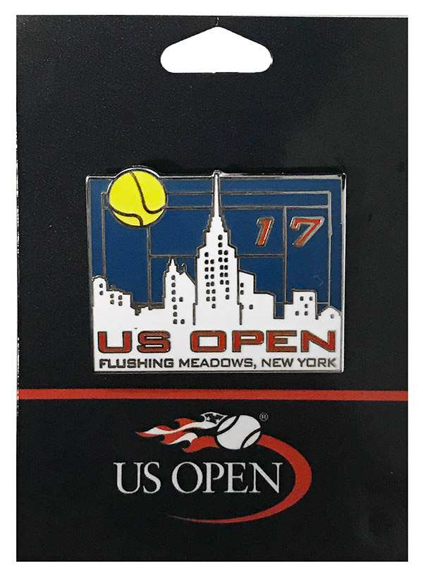 "US Open 2017 ""NYC Skyline"" Pin"