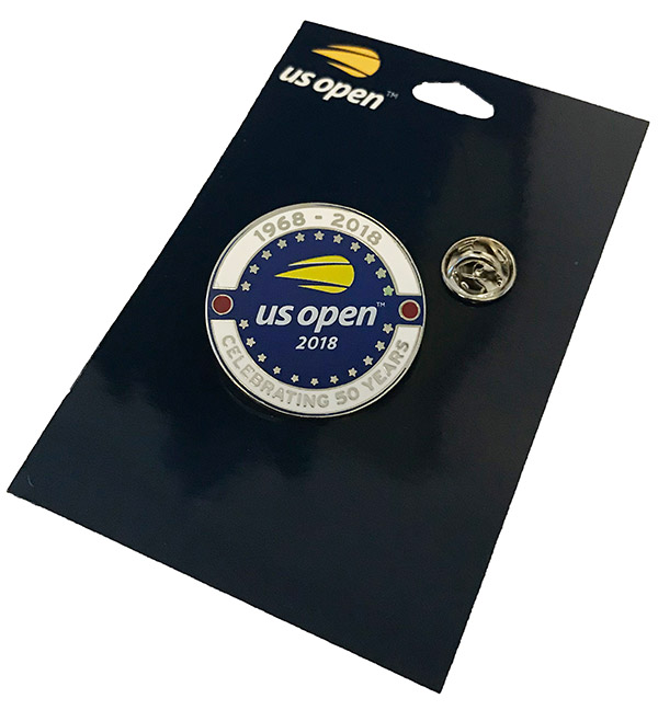 "US Open 2018 ""50 Years"" Pin"