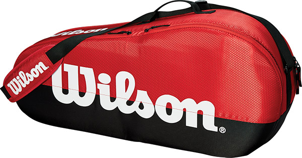 Wilson Team 1 Comp 3-Pack (Red/Black)