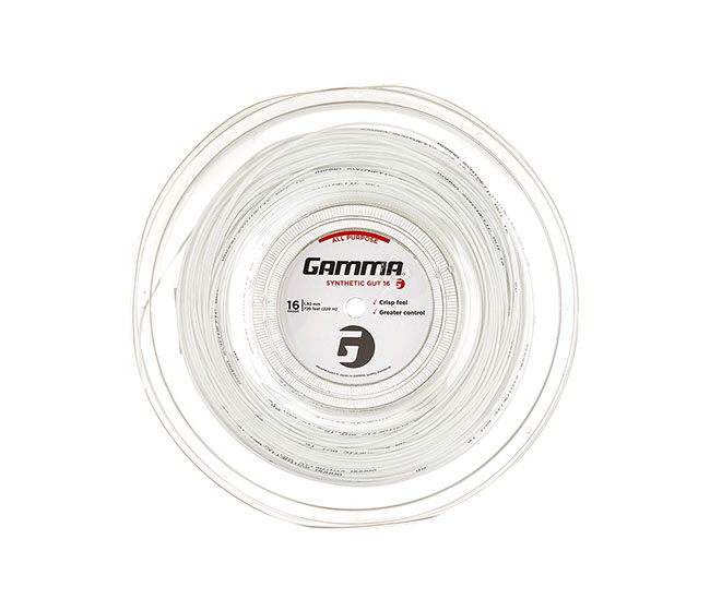 Gamma Synthetic Gut 17g Reel (White)