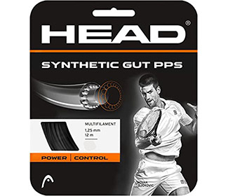 Head Synthetic Gut PPS 17g (Black)