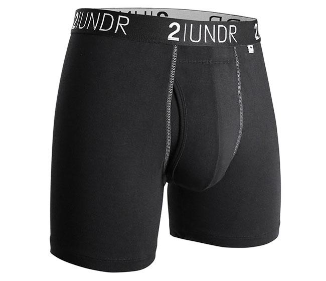2UNDR Swing Shift Boxer Brief (Black)