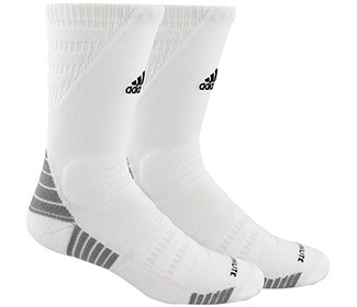 adidas Alphaskin Max Cushioned Crew-Large