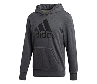 Adidas Essentials Linear Pullover Hoodie (M)