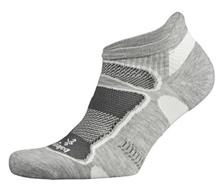 Balega Ultralight No Show Grey/White