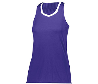 Augusta Crosse Tank (W) (Purple)