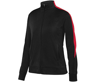 Augusta Medalist Jacket (W) (Black/Red)