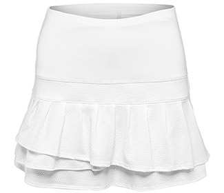Lucky-Long Pleat Tier Skirt
