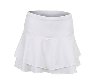 Lucky in Love-Long Flip Tier Skirt (W)