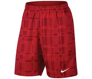 "Nike Court Plaid 9"" Short"