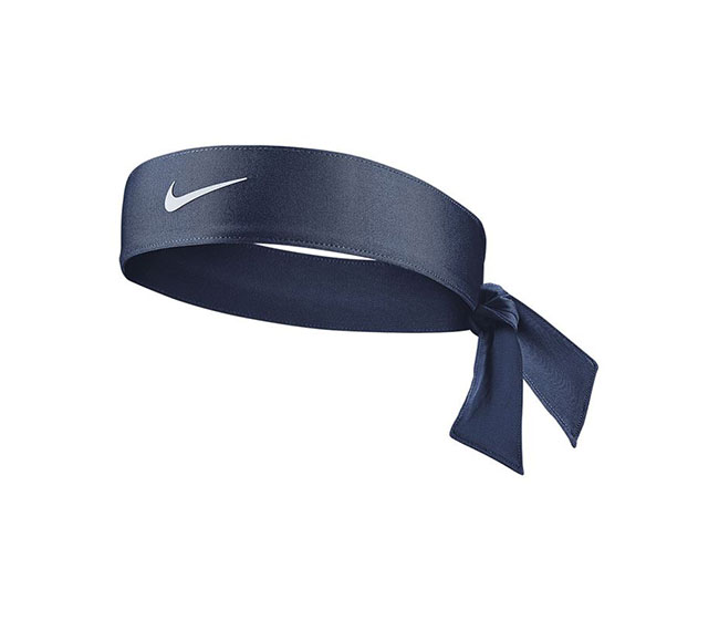 Nike Women's Tennis Premier Head Tie (Navy)