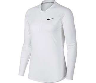 Nike Pure Top L/S Half Zip (W)