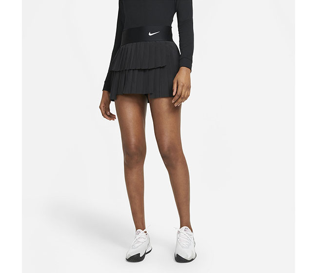 Nike Court DriFit Advantage Pleated Skirt (W) (Black)