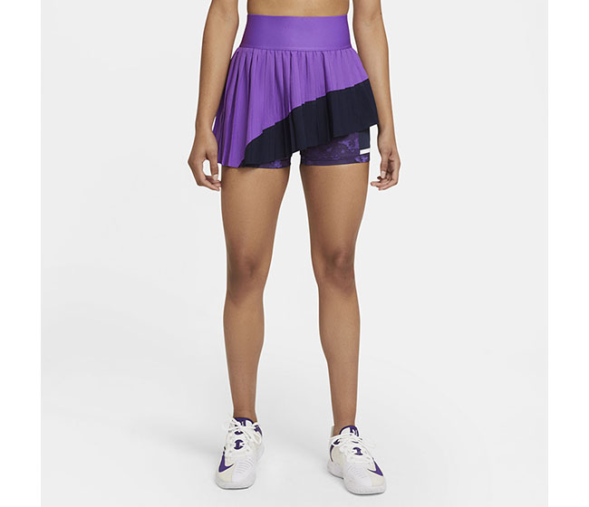 Nike Court Slam Skirt Melbourne (W) (Purple)
