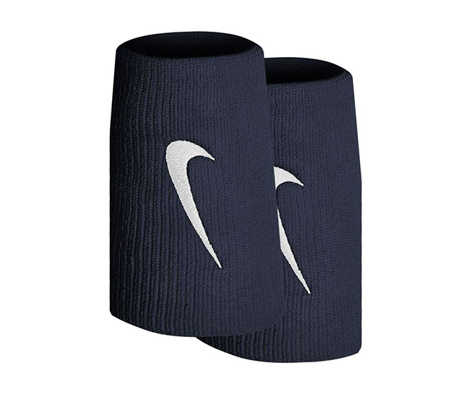 Nike Tennis Premier Double Wristbands (2x) (Navy)