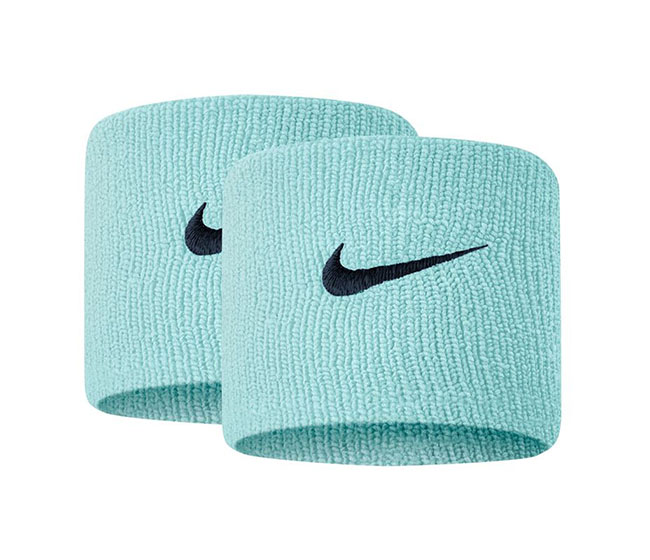 Nike Tennis Premier Wristbands (2x) (Blue/Navy)