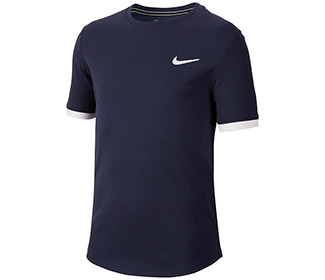 Nike Court Dry S/S Top (B)