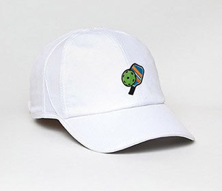 Pickleball Active Cap (U) White