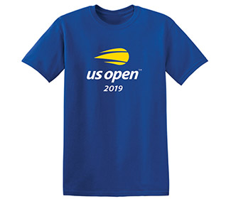 US Open 2019 Official Logo Tee (M) Royal