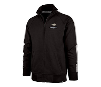 US Open Scrimmage Track Jacket (M) Black