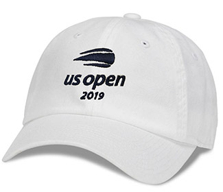 US Open 2019 Washed Cap (M) White/Navy