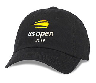 US Open 2019 Washed Cap (M) Black