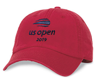 US Open 2019 Washed Cap (M) Red