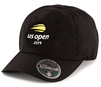 US Open 2019 Ventilator Cap (M) Black