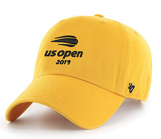 US Open 2019 Micro Sanded Cap (M) Yellow