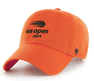US Open 2019 Micro Sanded Cap (M) Orange