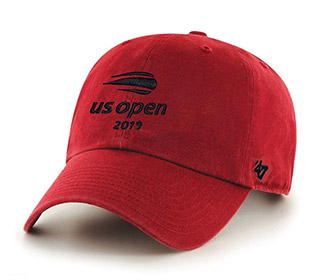 US Open 2019 Micro Sanded Cap (M) Red