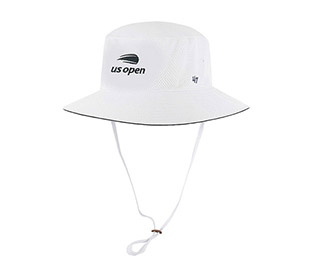 US Open Panama Bucket Hat (M) White