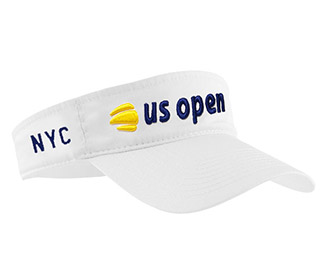 US Open Low Rider Visor (M) White
