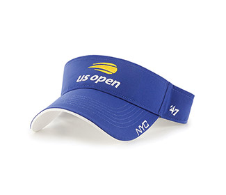 US Open Cross Court Visor (M) Royal