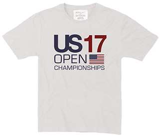 US Open 2017 Championship Flag Tee (M) White