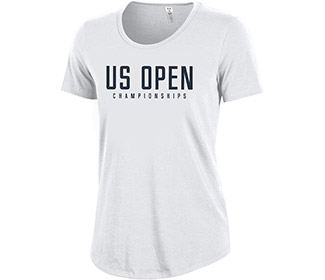 US Open '18 U.A. NYC Championships T (W) Wht