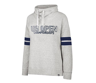 US Open '18 Funnelneck Sweatshirt (W) Grey
