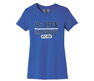US Open '18 Championships Tee (W) Blue