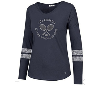 US Open '18 Championship L/S Tee (W) Navy