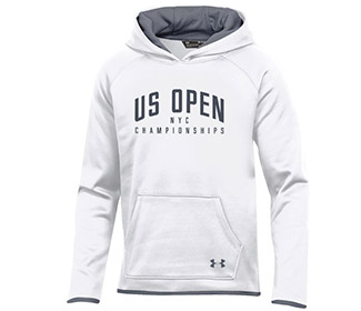 US Open Under Armour Fleece Hoody (G) White