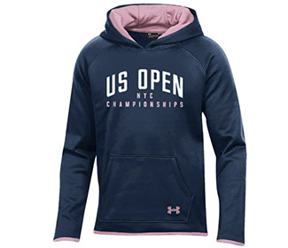 US Open Under Armour Fleece Hoody (G) Navy
