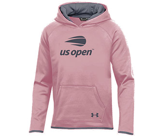 US Open Under Armour Fleece Hoody (G) Pink