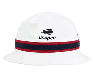 US Open Striped Bucket Cap (M) White a96a5aefd7a9