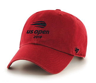 US Open '18 Microsanded Cap (M) Red